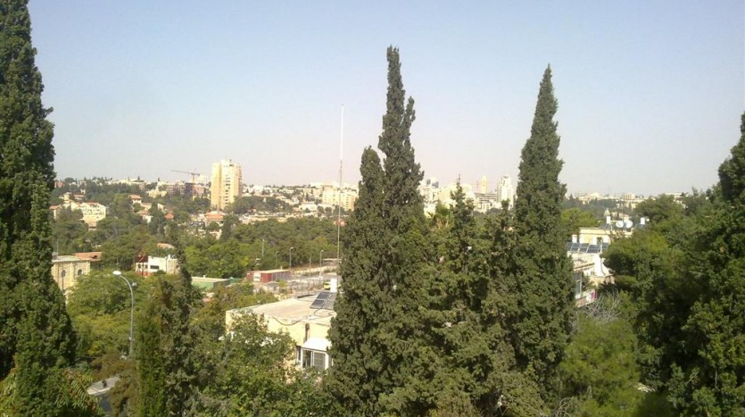 living in Jerusalem
